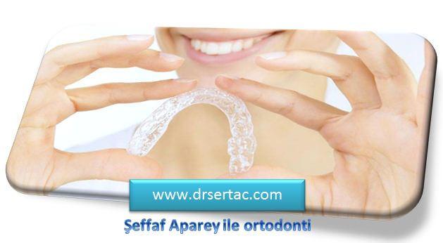 Şeffaf aparey ile Ortodonti Tedavisi