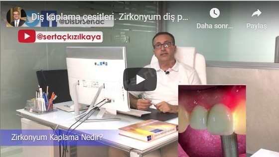 Zirkonyum diş video